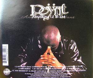 Back Cover Album Poÿnt - Anything U Want