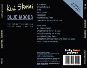 Back Cover Album Keni Stevens - Blue Moods  | ftg records | FTG-166 | UK