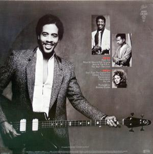 Back Cover Album Stanley Clarke - Find Out!