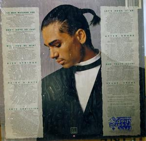 Back Cover Album Chico Debarge - Kiss Serious