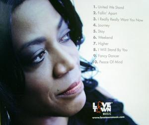 Back Cover Album Alicia Myers - Peace Of Mind