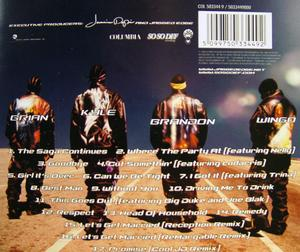 Back Cover Album Jagged Edge - Jagged Little Thrill