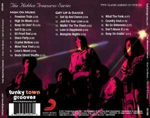 Back Cover Album Memphis Horns - High on Music  | funkytowngrooves usa records | HTS-008 | US