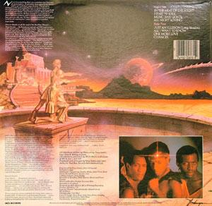 Back Cover Album Imagination - In The Heat Of The Night