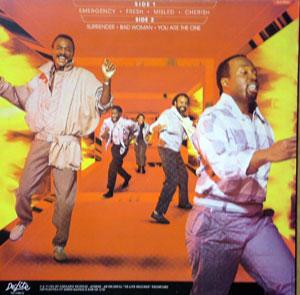 Back Cover Album Kool & The Gang - Emergency