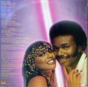 Back Cover Album Peaches & Herb - Twice The Fire