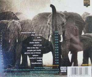 Back Cover Album The Brand New Heavies - Dream Come True The Best Of The Acid Jazz Years