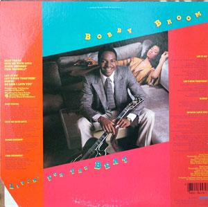Back Cover Album Bobby Broom - Living For The Beat