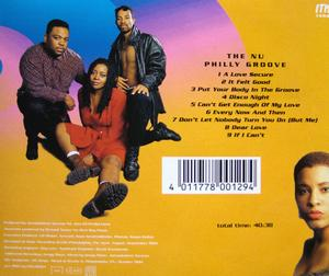 Back Cover Album The Nu Philly Groove - The Nu Philly Groove