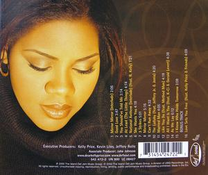 Back Cover Album Kelly Price - Mirror Mirror