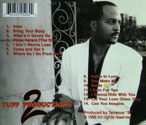 Back Cover Album Terrance B - Come And Get It