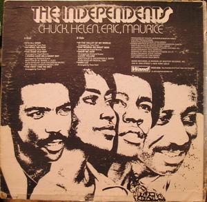 Back Cover Album The Independents - Chuck, Helen, Eric, Maurice