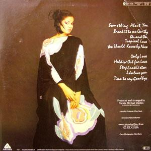 Back Cover Album Angela Bofill - Something About You