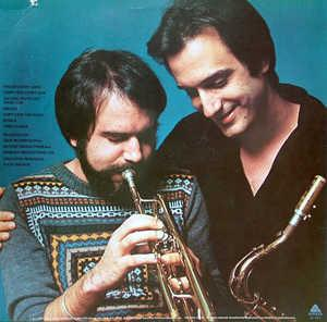 Back Cover Album The Brecker Brothers - Don't Stop The Music
