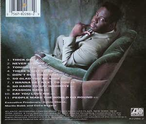 Back Cover Album Ce Ce Rogers - Never Give Up