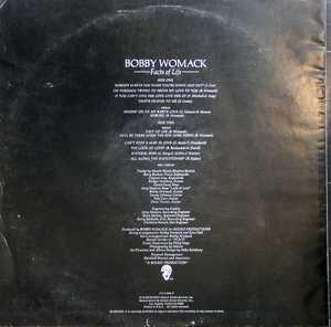Back Cover Album Bobby Womack - Facts Of Life