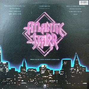 Back Cover Album Atlantic Starr - Yours Forever