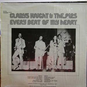Back Cover Album Gladys Knight & The Pips - Every Beat Of My Heart