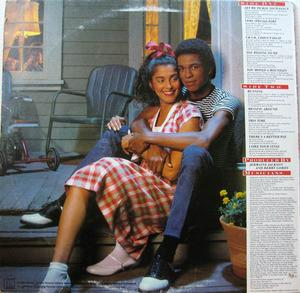 Back Cover Album Jermaine Jackson - Let Me Tickle Your Fancy