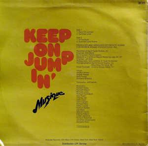 Back Cover Album Musique - Keep On Jumpin'