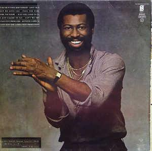 Back Cover Album Teddy Pendergrass - TP