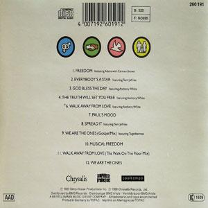 Back Cover Album Paul Simpson - One