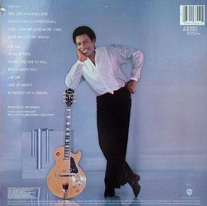 Back Cover Album George Benson - In Your Eyes
