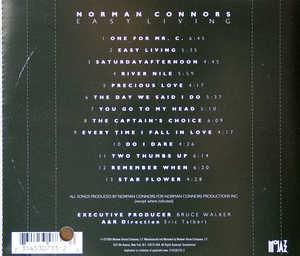 Back Cover Album Norman Connors - Easy Living