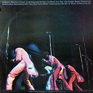 Back Cover Album Harold Melvin & The Blue Notes - Black & Blue
