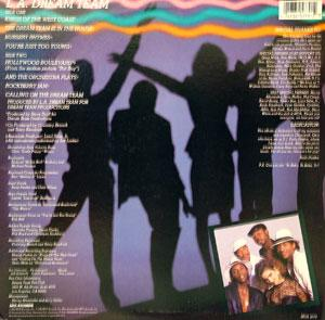 L.a. Dream Team - Kings Of The West Coast - Back Cover