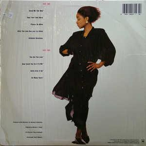 Back Cover Album Regina Belle - All By Myself