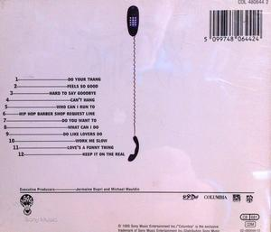 Back Cover Album Xscape - Off The Hook