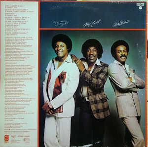 Back Cover Album The O'jays - Identify Yourself
