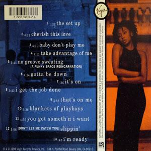 Back Cover Album Brigette Mcwilliams - Take Advantage of Me