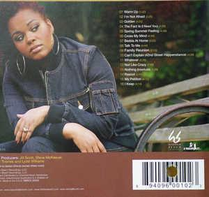 Back Cover Album Jill Scott - Beautifully Human: Words And Sounds, Vol. 2