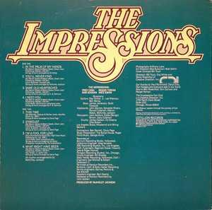 Back Cover Album The Impressions - It's About Time