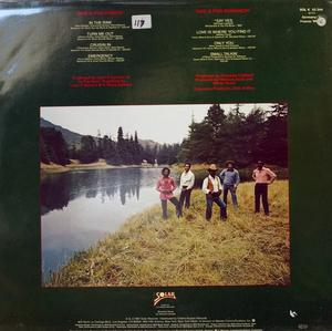Back Cover Album The Whispers - Love Is Where You Find It