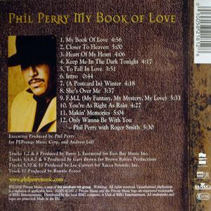 Back Cover Album Phil Perry - My Book Of Love