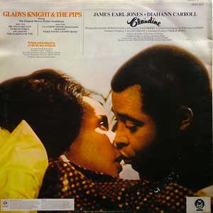 Back Cover Album Gladys Knight & The Pips - Claudine (OST)