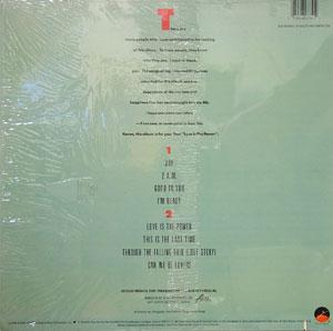 Back Cover Album Teddy Pendergrass - Joy