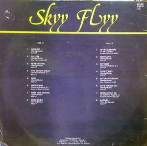 Back Cover Album Skyy - Skyy Flyy