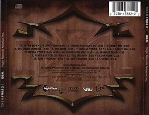 Back Cover Album Ideal - Ideal