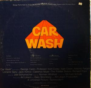 Rose Royce - Car Wash - Back Cover