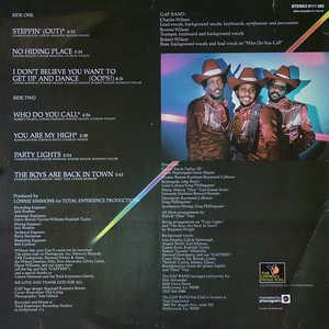 Back Cover Album The Gap Band - The Gap Band II