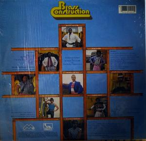 Back Cover Album Brass Construction - Attitudes