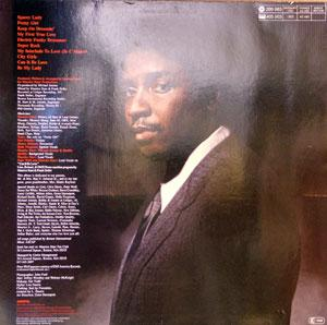 Back Cover Album Maurice Starr - Spacey Lady