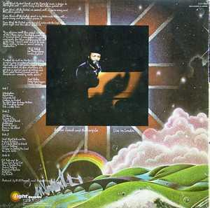 Back Cover Album Andraé Crouch - Live In London