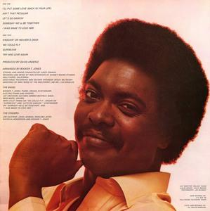 Back Cover Album Booker T. Jones And The Mgs - try And Love Again