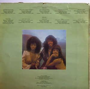 Back Cover Album The Three Degrees - With Love