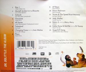Back Cover Album Various Artists - Dr. Dolittle